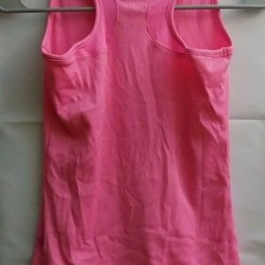Under Armour Shirts & Tops - Under Armour Girls Neon Pink Tank Top Youth M